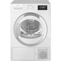 Smeg DRF81AUK 8Kg Heat Pump Tumble Dryer - White - A+ Rated   AO SALE
