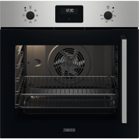 Zanussi ZOCNX3XL Built In Electric Single Oven - Stainless Steel - A Rated   AO SALE