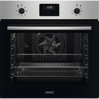 Zanussi ZOHNX3X1 Built In Electric Single Oven - Stainless Steel - A Rated   AO SALE