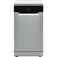 Whirlpool WSFE2B19XUK Slimline Dishwasher - Stainless Steel - A+ Rated   AO SALE