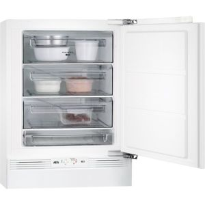 AEG ABB682F1AF Integrated Under Counter Freezer with Fixed Door Fixing Kit - A+ Rated  AO SALE