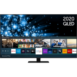 "Samsung QE55Q80TA 55"" Smart 4K Ultra HD QLED TV With Quantum Processor, Direct Full Array and Adaptive Sound +  AO SALE"