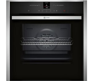 NEFF N70 Slide&Hide® B47CR32N0B Built In Electric Single Oven - Stainless Steel - A+ Rated AO SALE