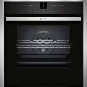 NEFF N70 Slide&Hide® B47VR32N0B Built In Electric Single Oven - Stainless Steel - A+ Rated AO SALE