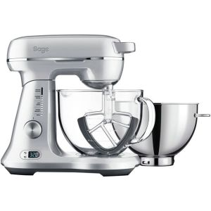 Sage The Bakery Boss™ BEM825BAL Stand Mixer with 4.7 Litre Bowl - Silver  AO SALE