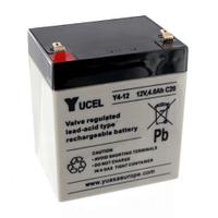 Yucel 12V 4Ah Sealed Lead Acid Battery