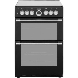 Stoves Sterling STERLING600DF 60cm Dual Fuel Cooker - Black - A/A Rated AO SALE