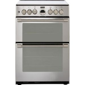 Stoves Sterling STERLING600DF 60cm Dual Fuel Cooker - Stainless Steel - A/A Rated  AO SALE