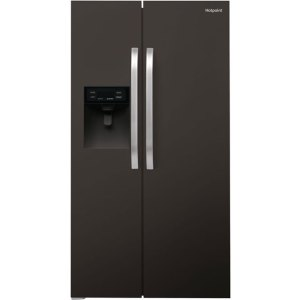 Hotpoint Day1 SXBHE925WD American Fridge Freezer - Black - A+ Rated  AO SALE