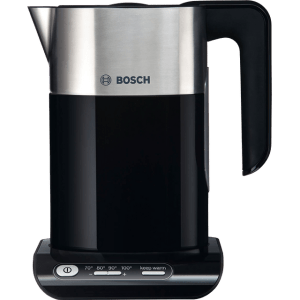 Bosch Styline TWK8633GB Kettle with Temperature Selector - Black / Stainless Steel  AO SALE