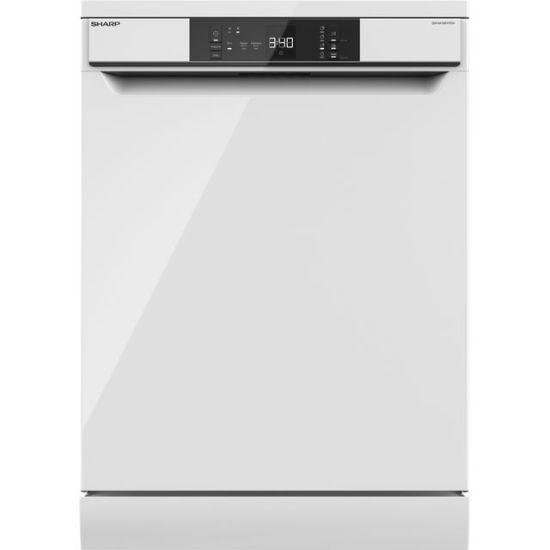 Sharp QW-NA1CF47EW-EN Standard Dishwasher - White - A++ Rated