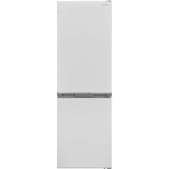 Sharp SJ-BA10DMXWF-EN 60/40 Frost Free Fridge Freezer - White - A+ Rated