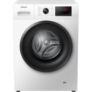 Hisense WFPV9014EM 9Kg Washing Machine with 1400 rpm - White - A+++ Rated