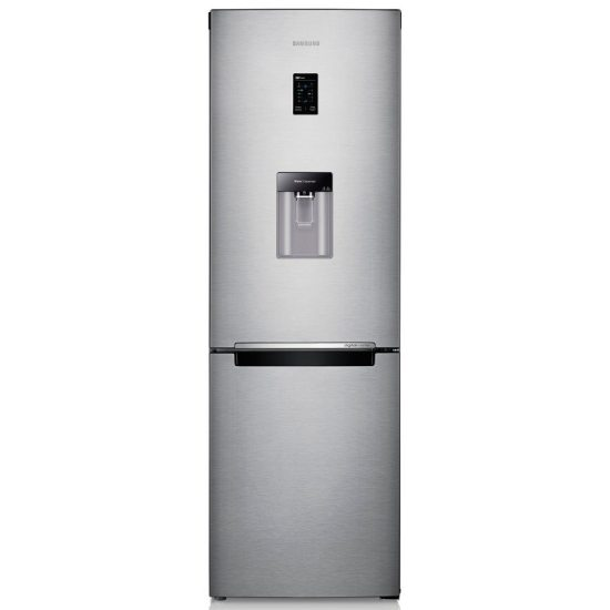 Samsung RB31FDRNDSA 60cm Frost Free Fridge Freezer Water Dispenser - SILVER Find The Best Deals Online For The