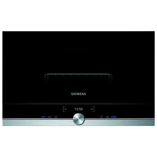 Siemens BE634LGS1B IQ-700 Built In Microwave & Grill For Wall Unit - STAINLESS STEEL