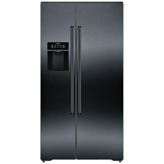 Siemens KA92DHXFP IQ-700 American Fridge Freezer Ice & Water - BLACK STEEL