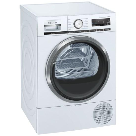 Siemens WT48XRH9GB 9kg IQ-500 Heat Pump Condenser Tumble Dryer - WHITE