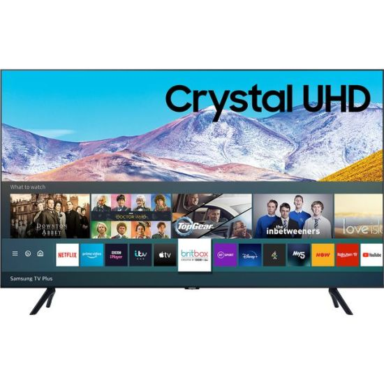 "Samsung UE82TU8000 82"" Smart 4K Ultra HD TV With Crystal Processor 4K, One Remote Control and Alexa Compatibility"