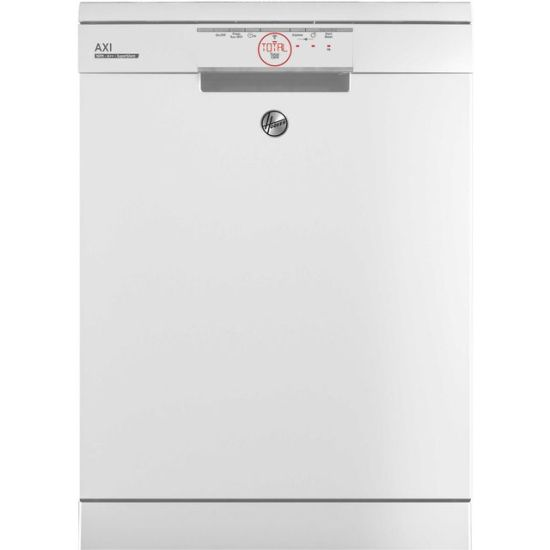 Hoover H-DISH 500 HF6E3DFW Wifi Connected Standard Dishwasher - White - A++ Rated