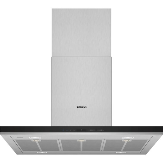 Siemens IQ-700 LF91BUV50B Wifi Connected 90 cm Island Cooker Hood - Stainless Steel - A+ Rated