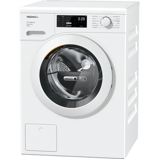 """Miele WTD163 Washer Dryer - Great Deal AO.com <h1 style=""""text-align: center;"""">Miele WTD163 Washer Dryer Free Standing in White. Amazing Deals to be found at Appliance-Deals.com <a href=""""https://www.awin1.com/pclick.php?p=28465266451&a=792795&m=19526""""><img class=""""alignnone wp-image-9780000159235"""" src=""""https://appliance-deals.com/wp-content/uploads/2021/02/ao-new.jpg"""" alt=""""miele wtd163 washer dryer"""" width=""""106"""" height=""""106"""" /></a></h1>"""