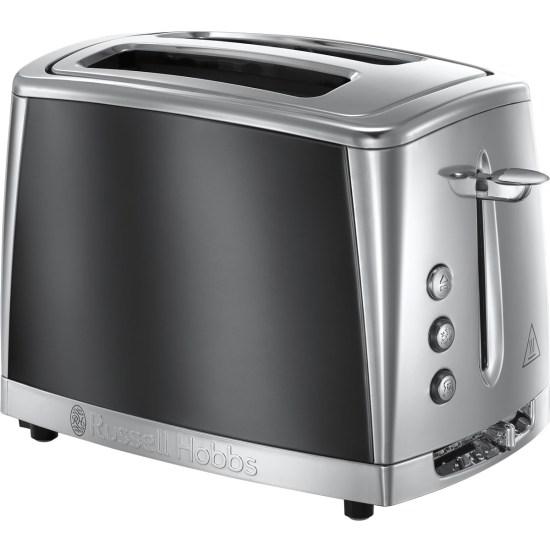 Russell Hobbs 23221 Luna 1500W 2 Slice Toaster - Grey