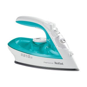 Tefal FV6520 Freemove Air Cordless 2400W Steam Iron - Turquoise and White