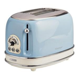 Ariete AR5515 Vintage 2-Slice Toaster - Blue