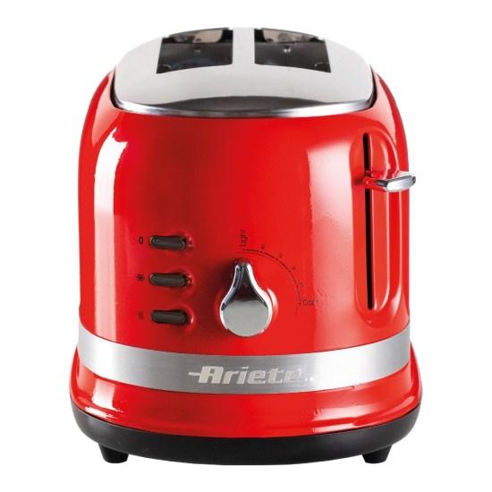 Ariette AR1491 Moderna 2-Slice Toaster - Red