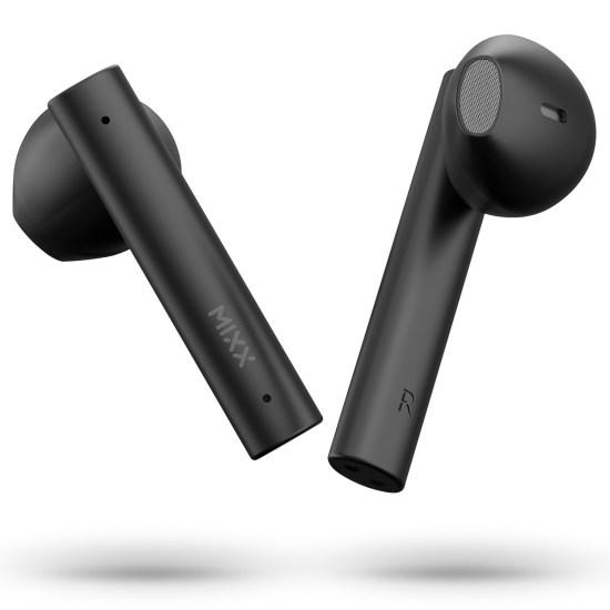 Mixx Streambuds Air True Wireless Earbuds - Midnight Black