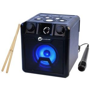 N-Gear Drum Block 420 Portable Bluetooth Drum & Karaoke Speaker