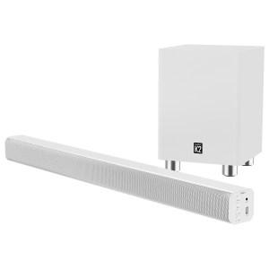 Majority K2 Soundbar & Wireless Subwoofer - White