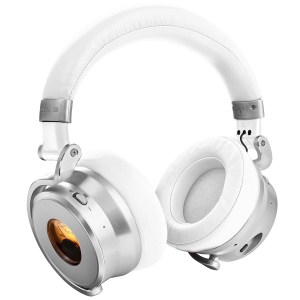 Meters Connect Over Ear Bluetooth Active Noise Cancelling Headphones - White