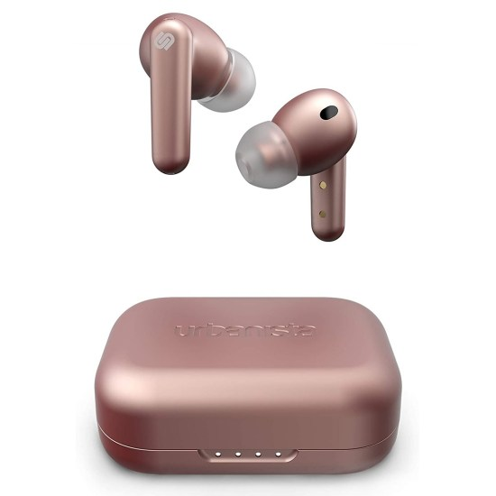 Urbanista London True Wireless Earbuds with Active Noise Cancellation - Rose Gold