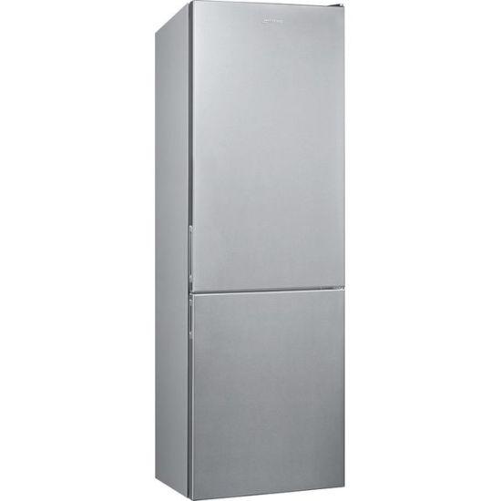 Smeg FC18EN1X 60/40 Frost Free Fridge Freezer - Stainless Steel - A++ Rated
