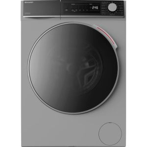 Sharp ES-NDB8144SD-EN 8Kg / 6Kg Washer Dryer with 1400 rpm - Silver - A Rated