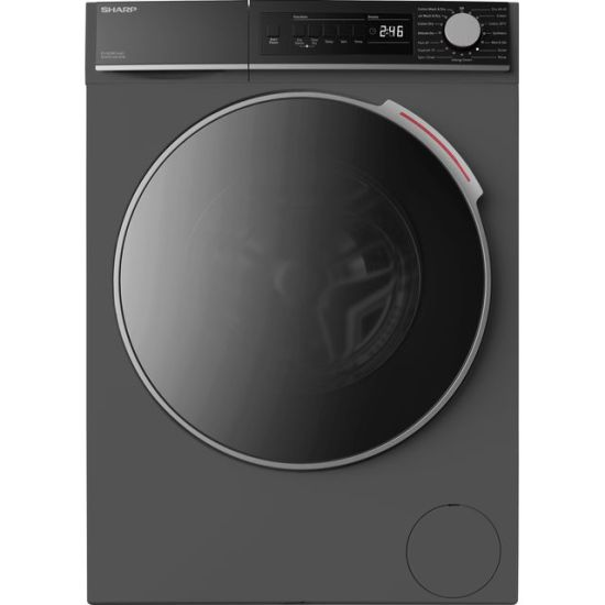 Sharp ES-NDB8144AD-EN 8Kg / 6Kg Washer Dryer with 1400 rpm - Graphite - A Rated