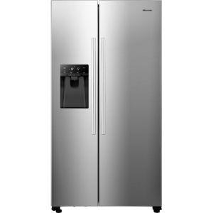 Hisense RS694N4ICF American Fridge Freezer - Stainless Steel - A++ Rated