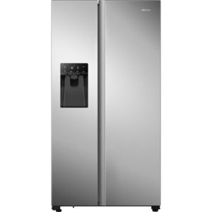 Hisense RS694N4TZF American Fridge Freezer - Stainless Steel - A++ Rated