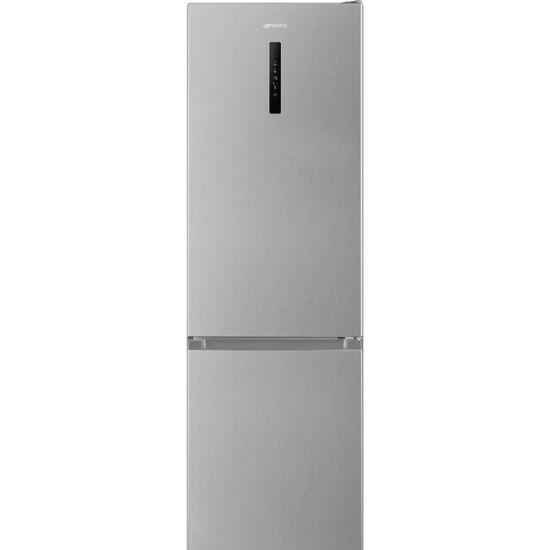 Smeg Free Standing Fridge Freezer Frost Free in Stainless Steel