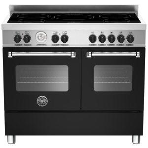 Bertazzoni MAS100-5I-MFE-D-NEE 100cm Master Series Induction Range Cooker - BLACK