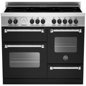 Bertazzoni MAS100-5I-MFE-T-NEE 100cm Master Series XG Induction Range Cooker - BLACK