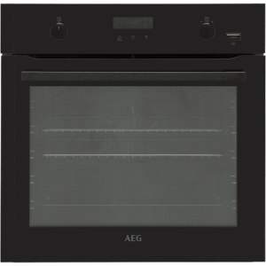AEG BPE556220B Built In Electric Single Oven - Black - A+ Rated