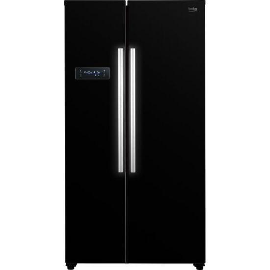 Beko ASL1331B American Fridge Freezer - Black - A+ Rated