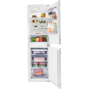 Beko BCFD350 Integrated 50/50 Frost Free Fridge Freezer with Sliding Door Fixing Kit - White - A+ Rated