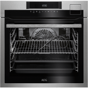 AEG Mastery BSE792320M Built In Electric Single Oven with added Steam Function - Stainless Steel - A+ Rated