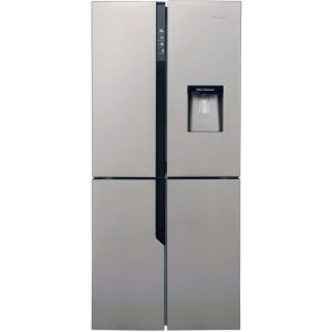 Hisense FMN431W20C American Fridge Freezer - Stainless Steel Effect - A+ Rated