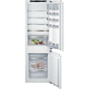 Siemens IQ-500 KI86SAFE0G Integrated 60/40 Fridge Freezer with Fixed Door Fixing Kit - White - A++ Rated