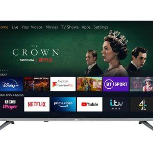 "40"" JVC LT-40CF700 Fire TV Edition  Smart Full HD LED TV with Amazon Alexa"
