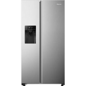 Fridgemaster MS91500IFS American Fridge Freezer - Silver - A+ Rated